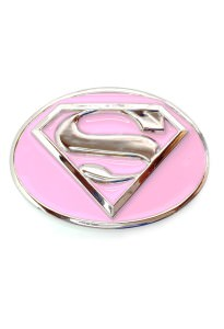 Supergirl Symbol Belt Buckle Inspired by DC Comics