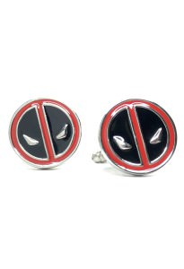 Deadpool Cufflinks Inspired by Marvel's Deadpool
