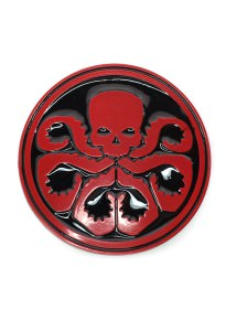 Classic Hydra Logo Belt Buckle Inspired by Marvel Comics