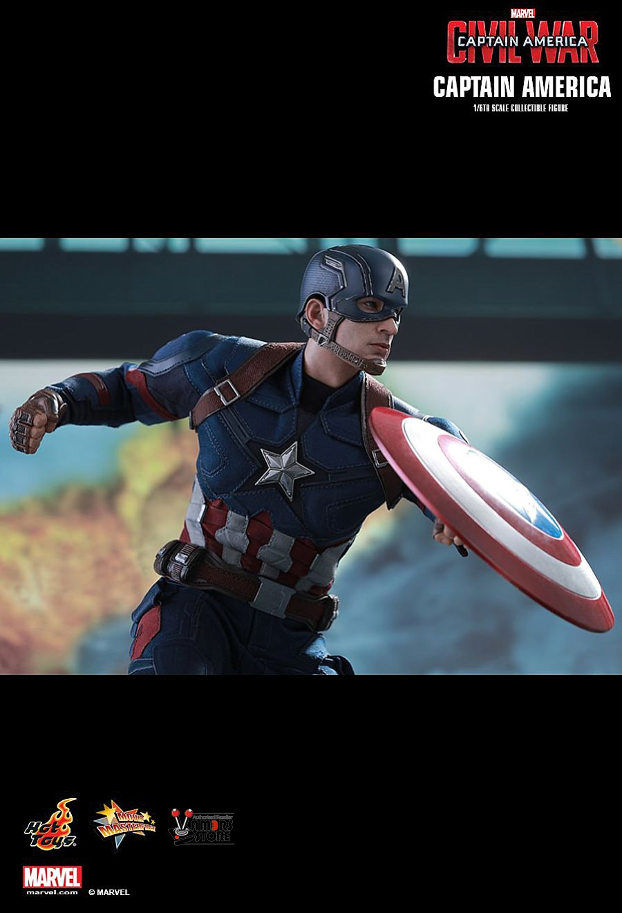 Hot Toys Captain America Collectible from Captain America ...