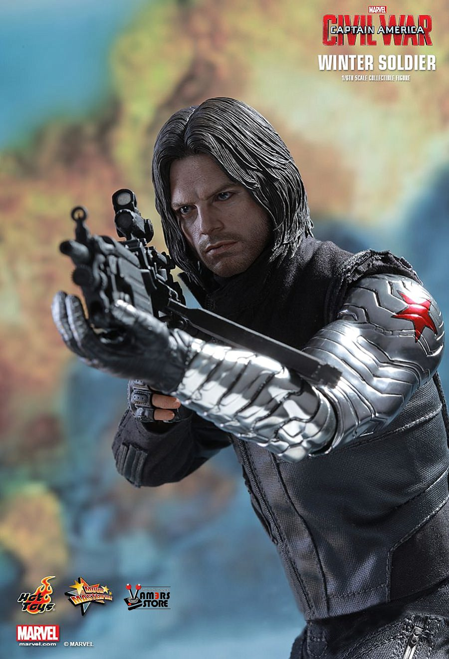 Hot Toys Winter Soldier Collectible from Captain America ...