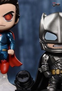 Hot Toys Armoured Batman and Superman Cosbaby Set from Batman v Superman: Dawn of Justice