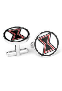Black Widow Cufflinks Inspired by Marvel's Avengers