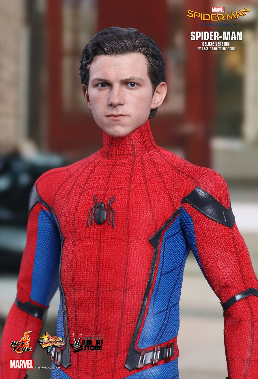 Men S Toys : Hot toys spider man deluxe version from