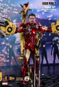 Hot Toys Diecast Mark IV with Suit-Up Gantry (MMS462D22) from Iron Man 2