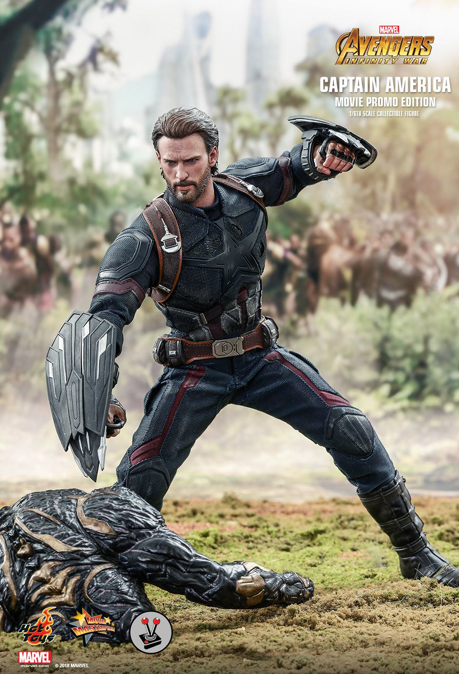 hot toys captain america from avengers infinity war mms481. Black Bedroom Furniture Sets. Home Design Ideas
