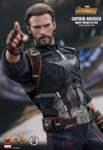 Hot Toys Captain America from Avengers: Infinity War (MMS 481) (Movie Promo Edition)