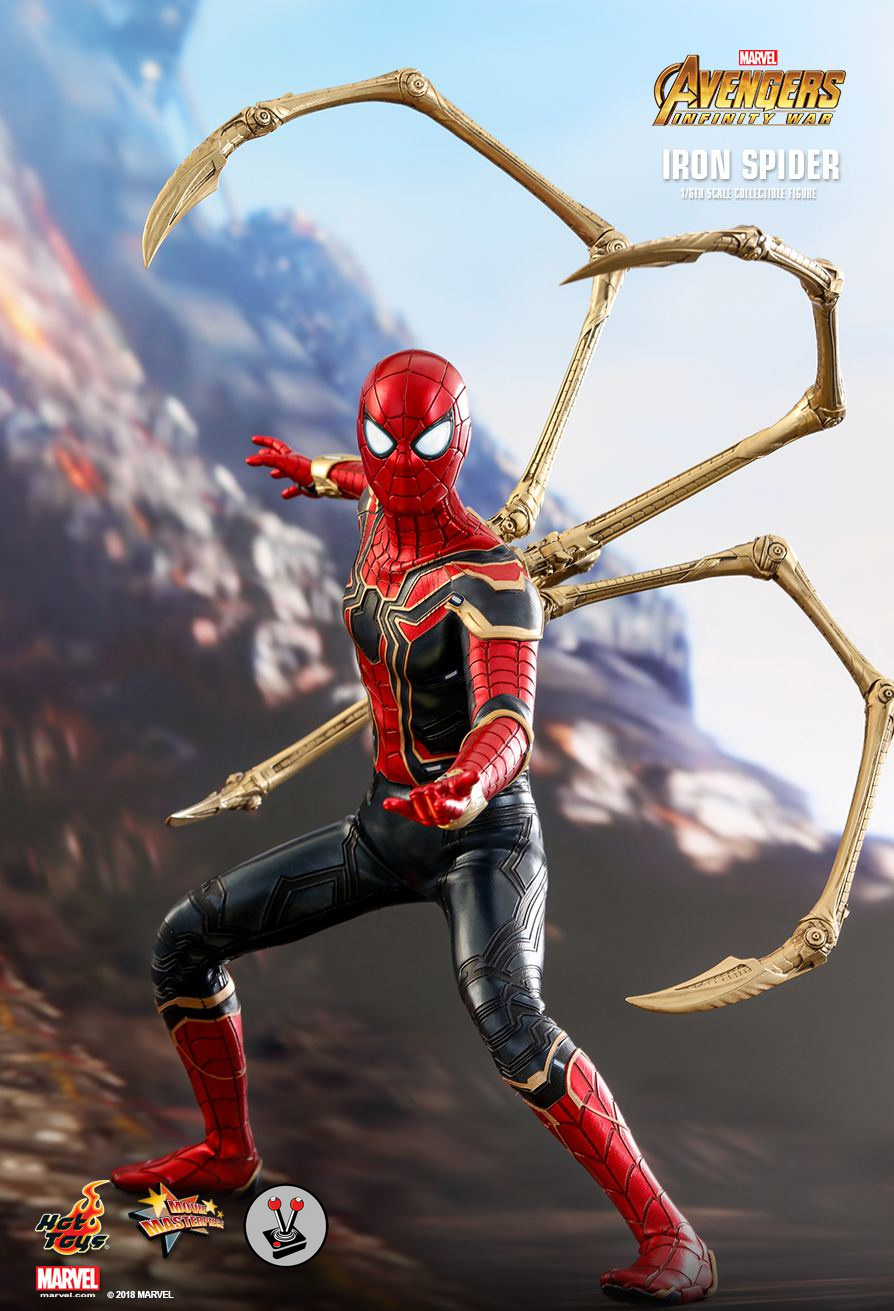 Hot Toys Iron Spider From Avengers Infinity War Mms482