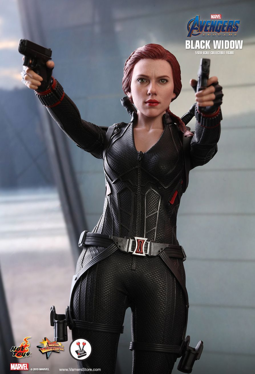 Hot Toys Black Widow Mms533 From Avengers Endgame